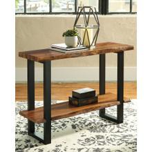 Brosward Sofa/console Table Two-tone