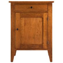 Vineyard Door & Drawer Nightstand