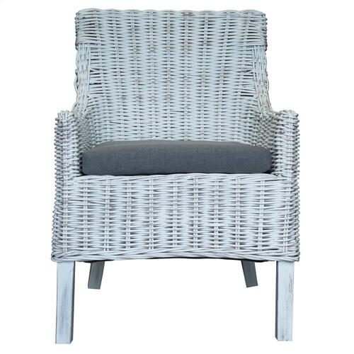 Capris Furniture - Arm Chair, Available in Mindi Wash Finish Only.