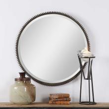 Werner Round Mirror