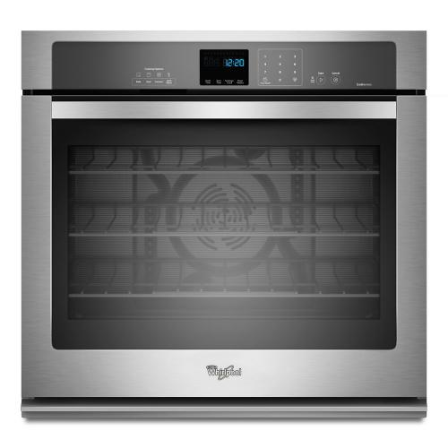 Whirlpool  WOS92EC0AS  Gold® 5.0 cu. ft. Single Wall Oven with SteamClean Option