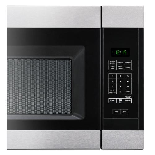 Amana Canada - 1.6 cu. ft. Amana® Over-the-Range Microwave with Add 0:30 Seconds