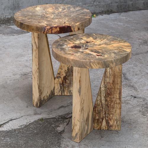 Nadette Nesting Tables, Natural, S/2