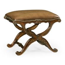 Neo-classical X-Frame Stool