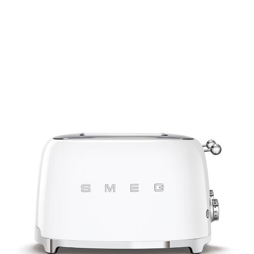 4x4 Slice Toaster, White