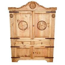 See Details - Rope Armoire W/ Star