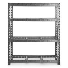 """View Product - 60"""" Wide Heavy Duty Rack with Four 18"""" Deep Shelves"""