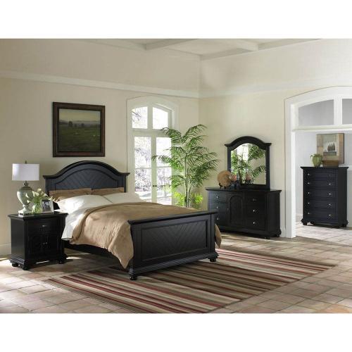 Cambridge Hyde Park Queen Bed in Black, 98101BQU-BK