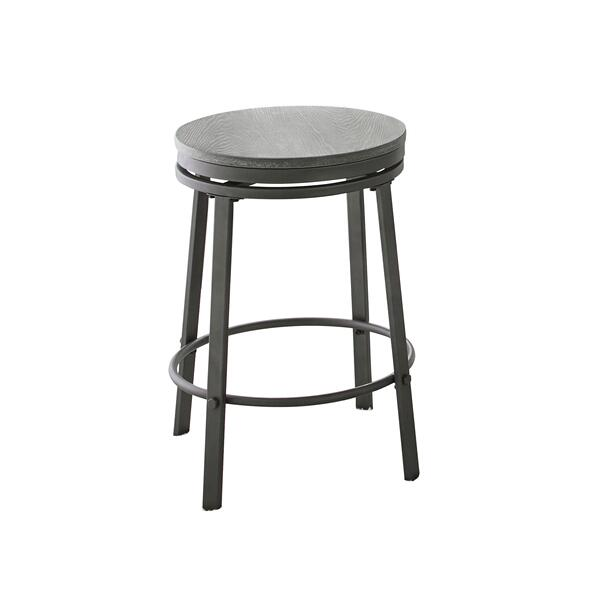 """See Details - Portland 24"""" Backless Counter Stool, Swivel"""