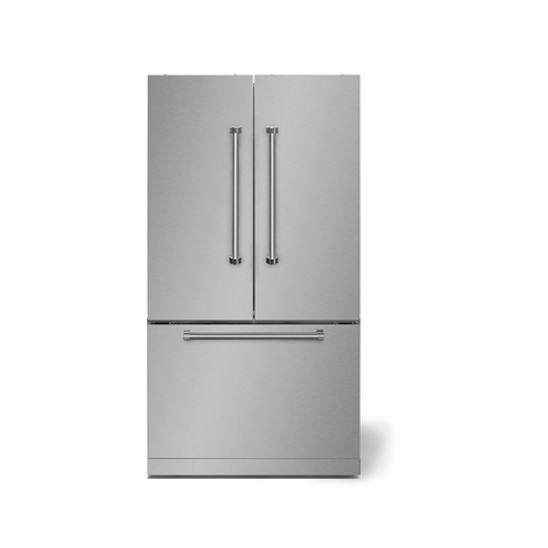 """AGA - AGA Professional 36"""" French Door Refrigerator, Stainless Steel"""