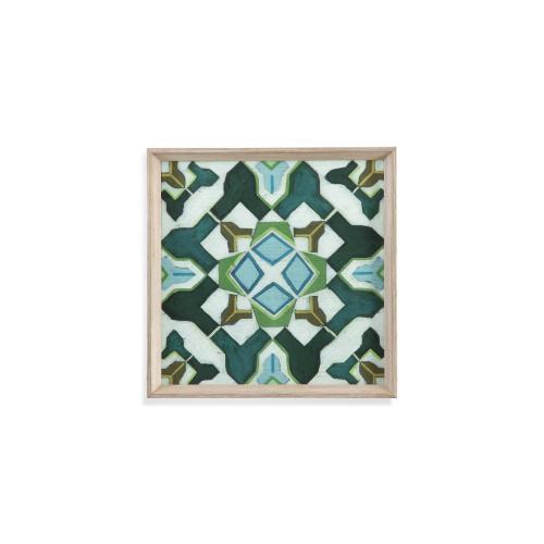 Bassett Mirror Company - Palm Piazza Tile I