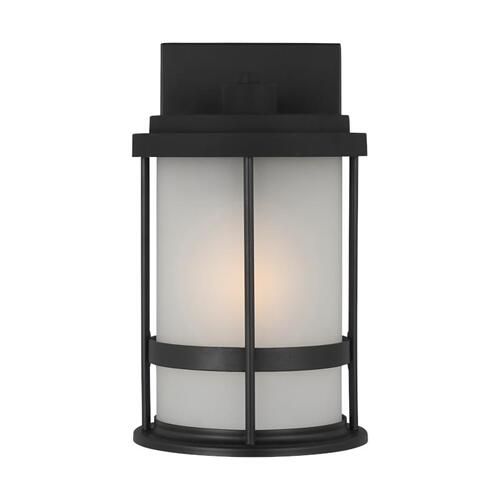 Wilburn Small One Light Outdoor Wall Lantern Black