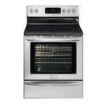 Refurbished Frigidaire Gallery 30'' Freestanding Electric Range (This is a Stock Photo, actual unit (s) appearance may contain cosmetic blemishes. Please call store if you would like actual pictures). This unit carries our 6 month warranty, MANUFACTURER WARRANTY and REBATE NOT VALID with this item. ISI 44503