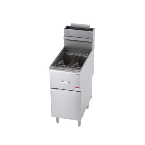 40 Lbs. Commercial Gas Fryer