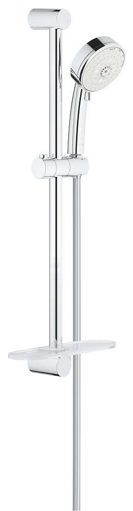 New Tempesta Cosmopolitan 100 Shower Rail Set 4 Sprays Product Image