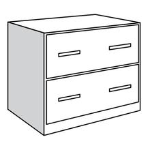 See Details - Base Unit, 2 Lateral File Drawers