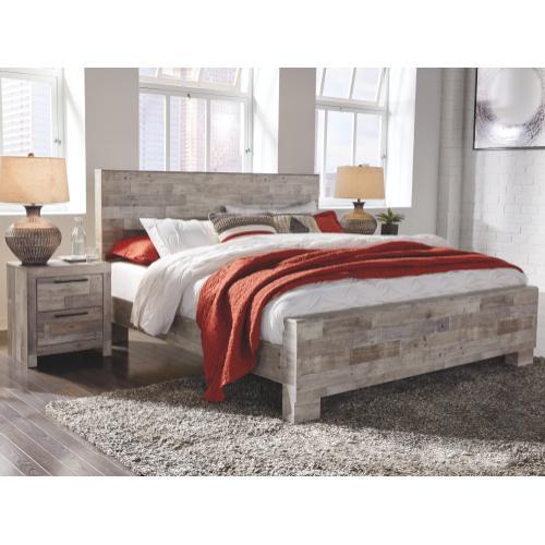 Effie King Panel Bed