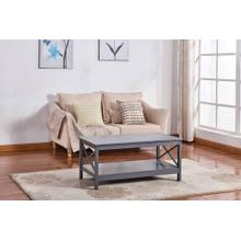 See Details - 6603 Gray Coffee Table
