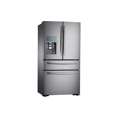 RF24FSEDBSR 23.6 cu.ft 4-Door French Door Refrigerator (Stainless Steel)