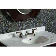 Sink Faucet, Lever Handles - Nickel Silver