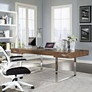 Tinker Office Desk in Walnut Product Image