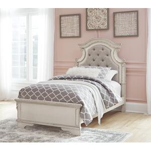 Signature Design By Ashley - Realyn Twin Panel Footboard