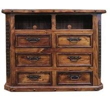 Brown Fine Laquer TV Dresser DISCONTINUED