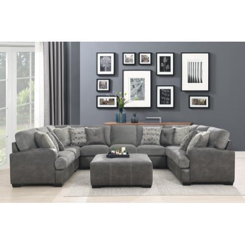 Emerald Home Berlin U4551-11-03 Lsf Loveseat W/ 3 Pillows
