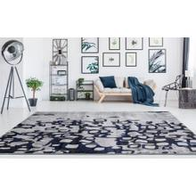 """See Details - Lifestyle 803 Area Rug by Rug Factory Plus - 7'6"""" x 10'3"""" / Navy"""