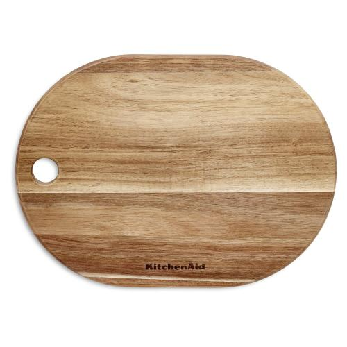 "8"" x 11"" Oblong Acacia Cutting Board - Acacia Wood"
