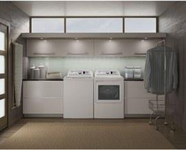 Gallery - GE 5.3(IEC) cu. ft. stainless steel capacity washer
