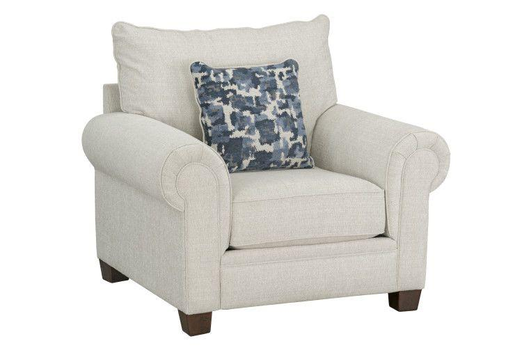 Windermere Upholstered Chair, Ecru