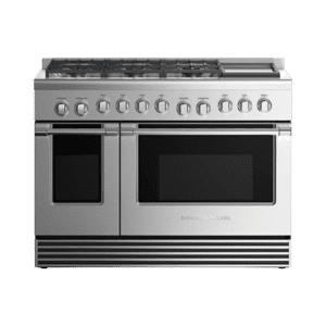 """Fisher & PaykelGas Range 48"""", 6 Burners with Griddle"""