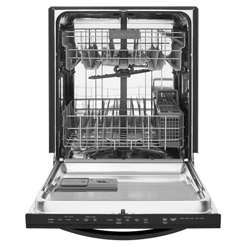 KitchenAid - 24'' 6-Cycle/5-Option Dishwasher, Architect® Series II - Black