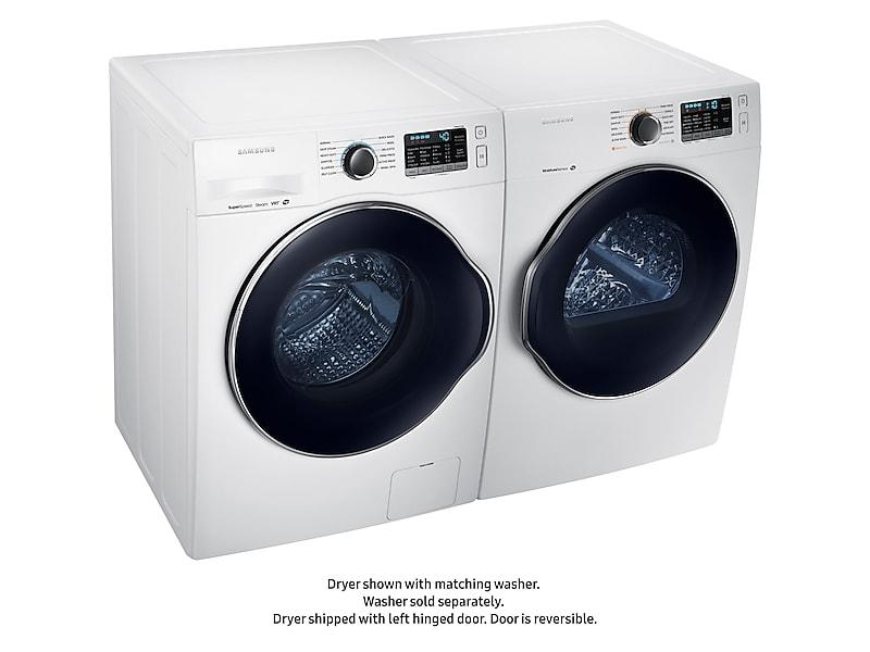 4.0 cu. ft. Electric Dryer in White Photo #5