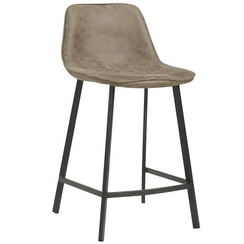 Buren 26'' Counter Stool, set of 2 in Vintage Brown