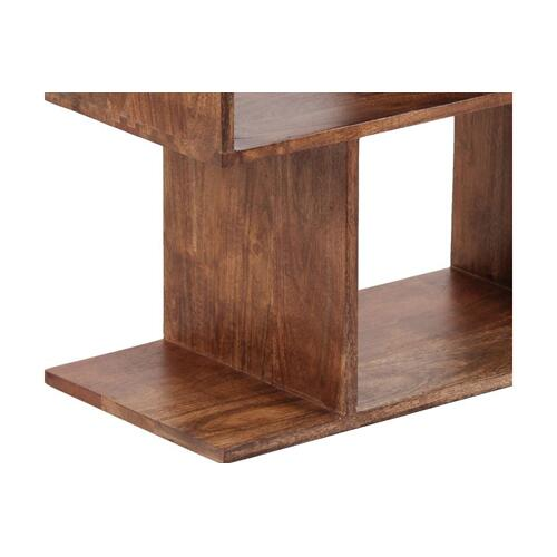 Portola Walnut 4 Cube Bookcase, 2001-1222WW