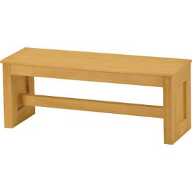 Small Bench, Wood Top