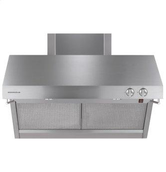 "Monogram 36"" Stainless Steel Professional Hood"