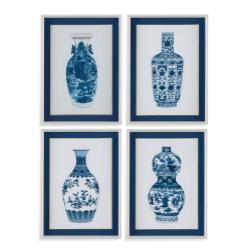 4 Pc Ming Vase