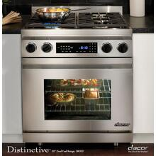 "Distinctive 30"" Slide-In Dual-Fuel Range, in Stainless Steel (Natural Gas)"