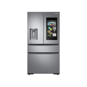 22 cu. ft. Family Hub™ Counter Depth 4-Door French Door Refrigerator in Stainless Steel Product Image