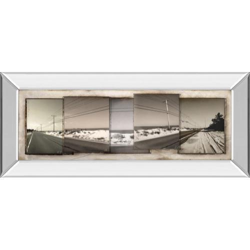"""The Old Coast Road"" By Noah Bay Mirror Framed Print Wall Art"