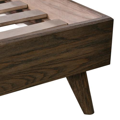 Loft Wooden King Bed