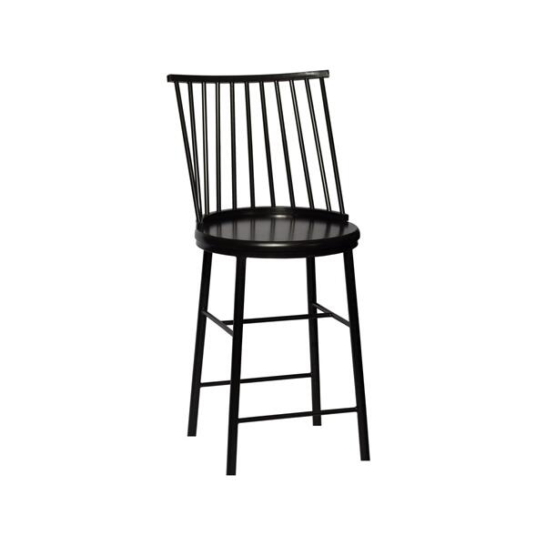 Frida Counter Chair - Black