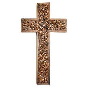 Star/stone Large Cross
