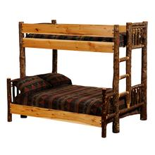 Bunk Bed - Single/Single - Espresso - Ladder Left