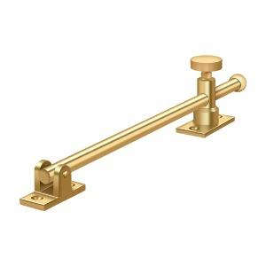 "10"" Casement Stay Adjuster - PVD Polished Brass"