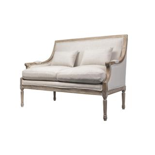 See Details - Ashley Settee (talc)