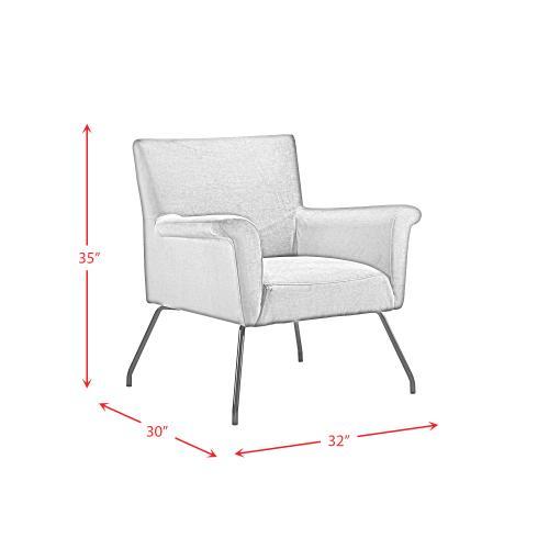 Elements - Bukit Mid-Century Modern Accent Chair
